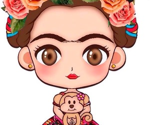 Frida, background, and wallpaper image