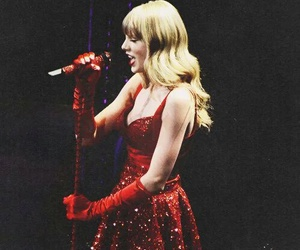 red, Taylor Swift, and red tour image