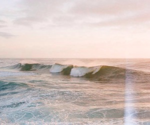 sea, beach, and waves image