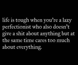 Lazy, me, and quote image