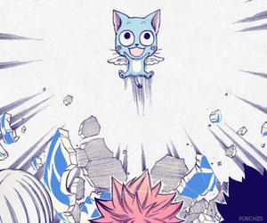 happy and fairy tail image