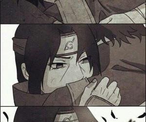 itachi, anime, and naruto image