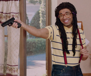 Drake, gun, and funny image