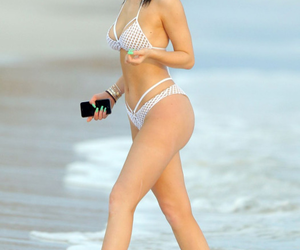 kylie jenner, bikini, and beach image
