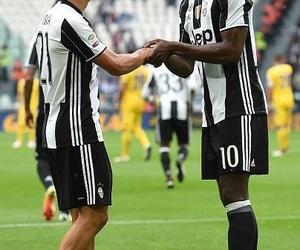 Juventus, paul pogba, and paulo dybala image