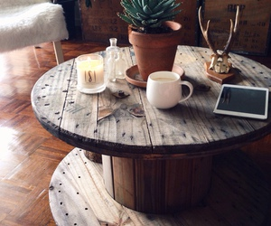table, decor, and home image