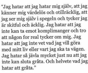 life, quote, and svenska image