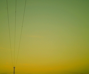colors, green, and electricity image