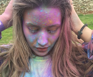 color, festival, and music image