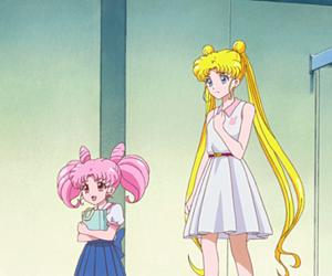 anime, sailor moon, and usagi tsukino image