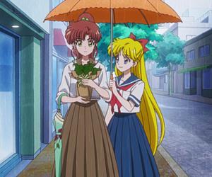 anime, sailor moon, and minako aino image