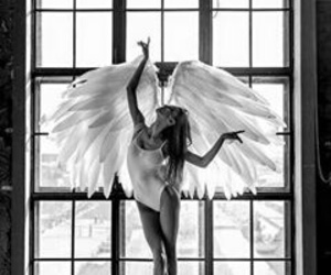 angel, ballet, and dance image
