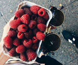 food, fruit, and raspberry image
