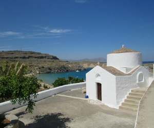 Greece, lindos, and rhodes island image