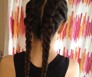 2, braids, and french image