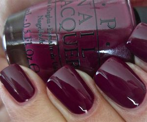 burgundy, lacquer, and nails image
