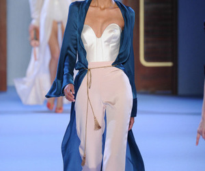 fashion, runway, and outfit image