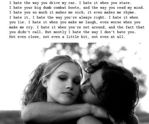 love, quotes, and 10 things i hate about you image