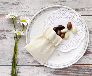 almond, bags, and rustic chic wedding image