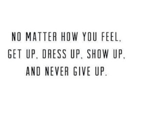 quotes, never give up, and life image