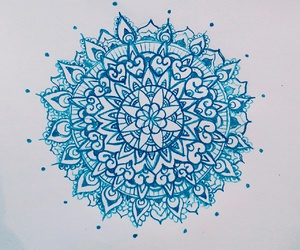 blue, drawing, and girly image