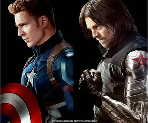 sebastian, soldier, and stan image