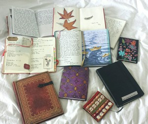 notes, notebook, and school image