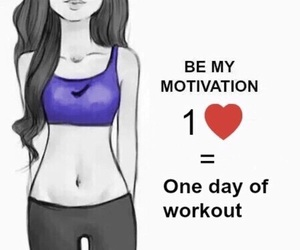 motivation, please, and workout image