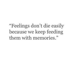 die, feelings, and memories image