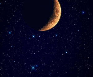 background, dark, and moon image