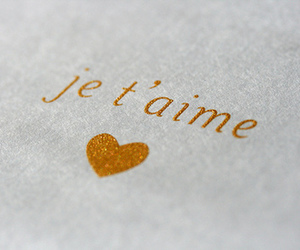 french, love, and text image