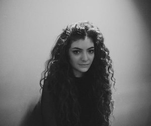 lorde, music, and black and white image