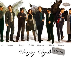 supernatural, angel, and Avengers image