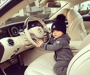 baby and car image