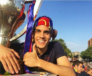 Barca, marc bartra, and football image