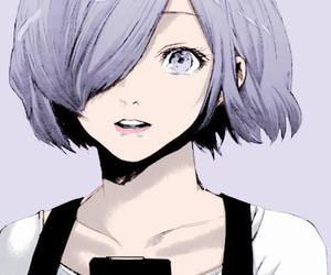 tokyo ghoul, touka, and manga image