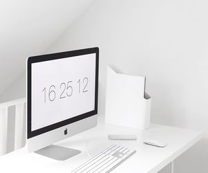 apple, mac, and white image