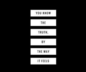 black and white, quote, and trust image