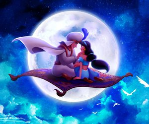 disney and aladdin image