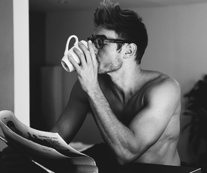 glasses, guy, and Hot image