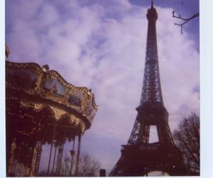 polaroid, paris, and vintage image