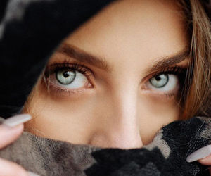 eyes, pretty, and girl image