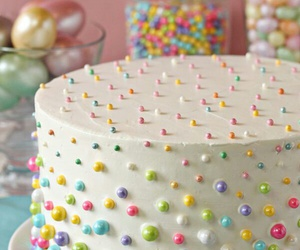 cake, sweet, and delicious image