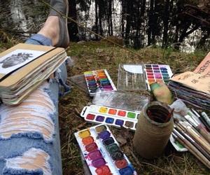 art, paint, and alternative image