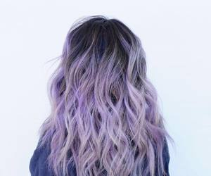 hair, purple, and fashion image