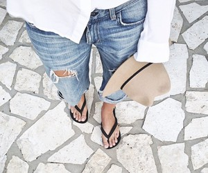 fashion, summer, and jeans image