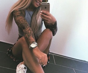 girl, inspiration, and leg image