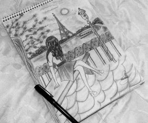 arte, dibujos, and francia image