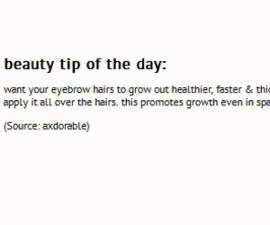 eyebrows, tips, and coconut oil image