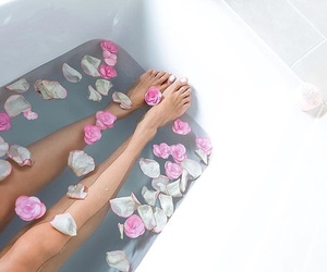 pink, relax, and rose image